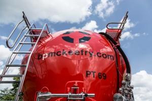 High capacity powder tanks